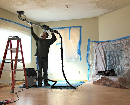 Coral Gables-South Florida Popcorn Ceiling Removal-We offer professional popcorn removal services, residential & commercial popcorn ceiling removal, Knockdown Texture, Orange Peel Ceilings, Smooth Ceiling Finish, and Drywall Repair