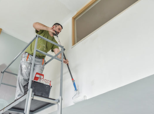 South Florida Popcorn Ceiling Removal Image 1-We offer professional popcorn removal services, residential & commercial popcorn ceiling removal, Knockdown Texture, Orange Peel Ceilings, Smooth Ceiling Finish, and Drywall Repair