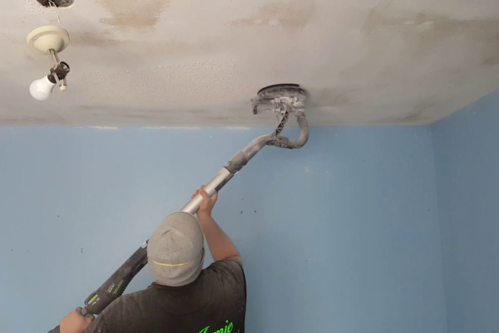 South Florida Popcorn Ceiling Removal Image 2-We offer professional popcorn removal services, residential & commercial popcorn ceiling removal, Knockdown Texture, Orange Peel Ceilings, Smooth Ceiling Finish, and Drywall Repair